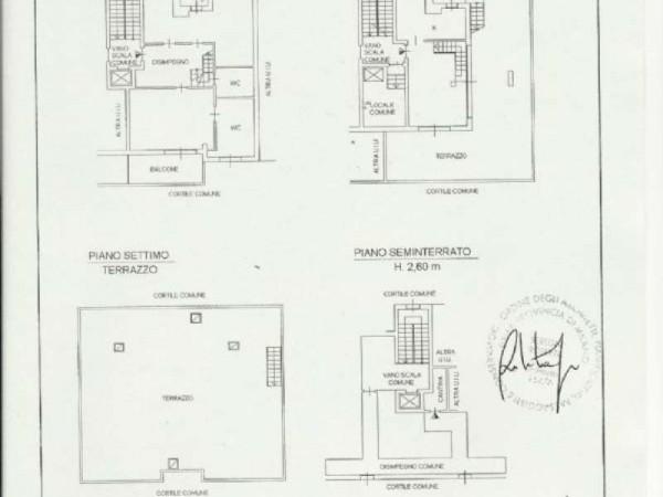 Appartamento in vendita a Peschiera Borromeo, San Bovio, Con giardino, 175 mq - Foto 2