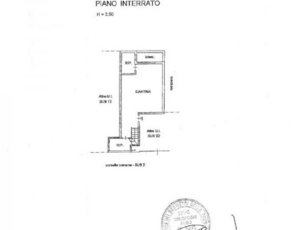 Villetta a schiera in vendita a Inverigo, Con giardino, 170 mq - Foto 3