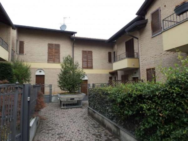 Villetta a schiera in vendita a Inverigo, Con giardino, 170 mq