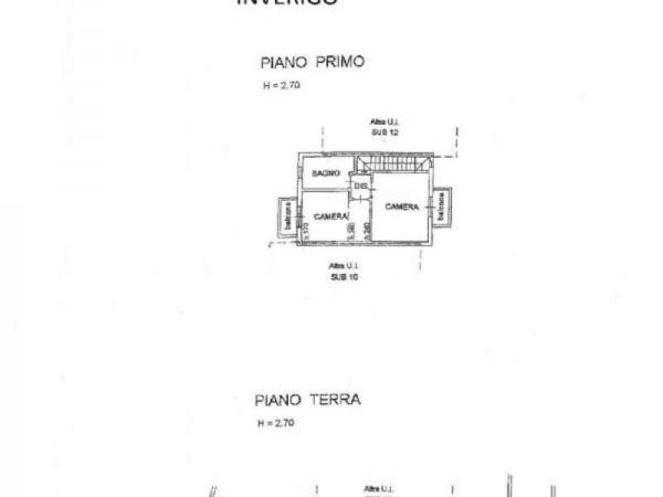 Villetta a schiera in vendita a Inverigo, Con giardino, 170 mq - Foto 4