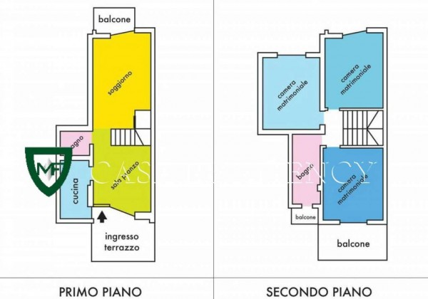 Appartamento in vendita a Induno Olona, Con giardino, 140 mq - Foto 2