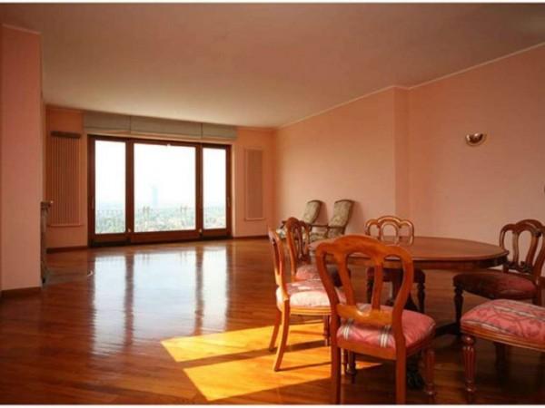 Appartamento in affitto a Moncalieri, Castello, 350 mq - Foto 22