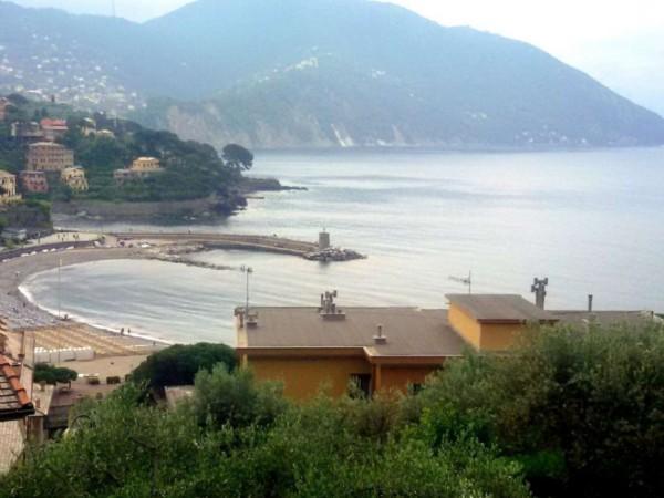 Appartamento in vendita a Recco, Montefiorito, Con giardino, 45 mq