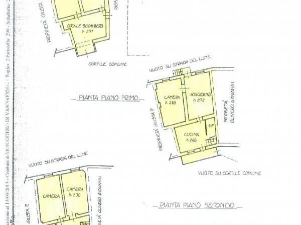 Appartamento in vendita a Monastero di Vasco, Vasco, Con giardino, 170 mq - Foto 2