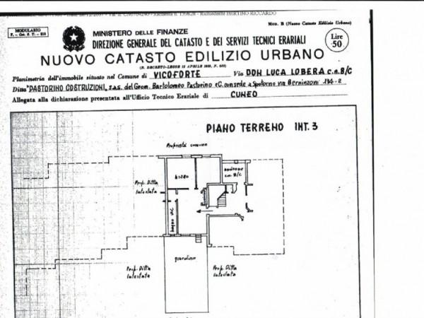 Appartamento in vendita a Vicoforte, Fiamenga, Con giardino, 65 mq - Foto 3