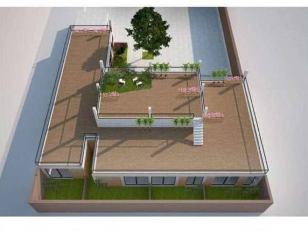 Appartamento in vendita a Milano, San Siro, Con giardino, 128 mq - Foto 19