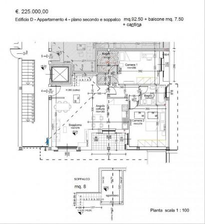 Appartamento in vendita a Caronno Pertusella, Con giardino, 98 mq - Foto 5