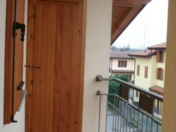 Villetta a schiera in affitto a Trescore Cremasco, Residenziale, Con giardino, 145 mq - Foto 4