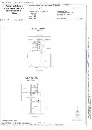 Appartamento in vendita a Milano, Via Paolo Sarpi, 75 mq - Foto 2