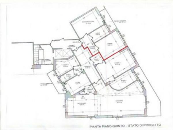 Appartamento in vendita a Milano, Pascoli - Citta Studi, Lambrate, 146 mq - Foto 2