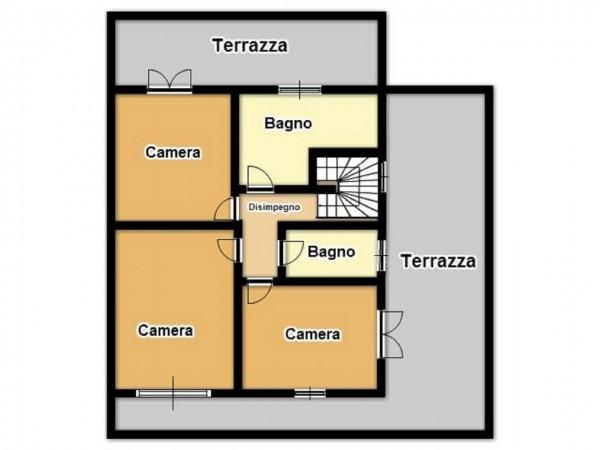 Appartamento in vendita a Brescia, Urago Mella, 184 mq - Foto 3