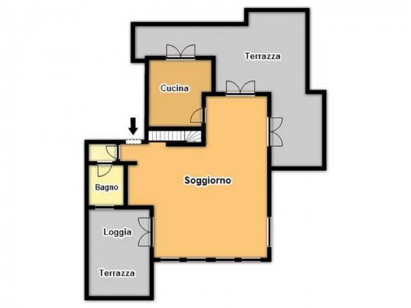 Appartamento in vendita a Brescia, Urago Mella, 184 mq - Foto 4