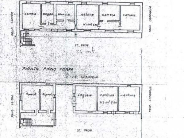 Casa indipendente in vendita a Foglizzo, Centro, Con giardino, 200 mq - Foto 2