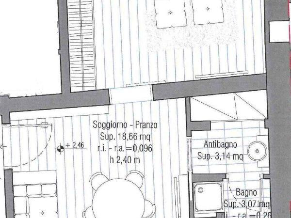Appartamento in vendita a Cesena, Centro Storico, 60 mq