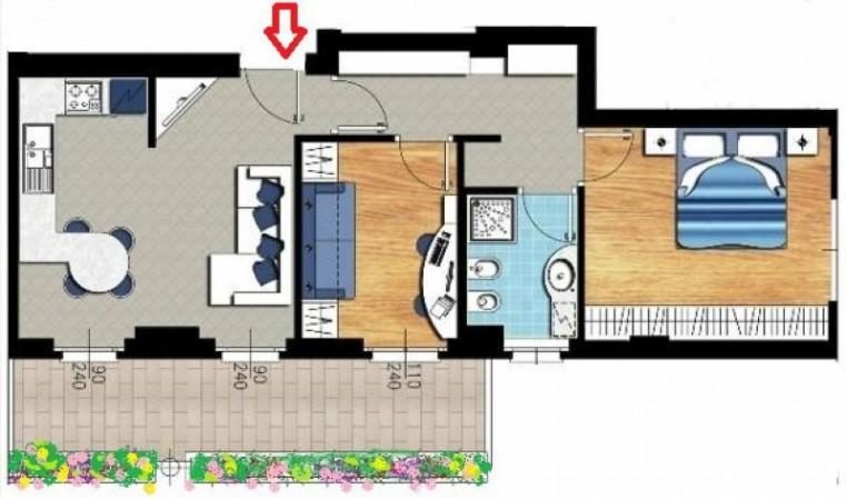 Appartamento in vendita a Castellanza, Centrale, 75 mq - Foto 2