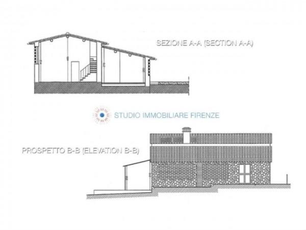 Rustico/Casale in vendita a San Casciano in Val di Pesa, Con giardino, 200 mq - Foto 2
