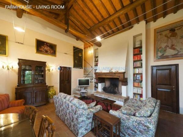 Rustico/Casale in vendita a San Casciano in Val di Pesa, Con giardino, 200 mq - Foto 14