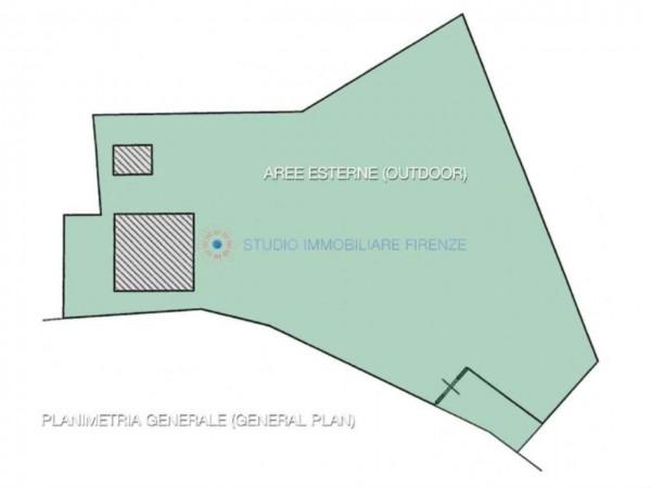 Rustico/Casale in vendita a San Casciano in Val di Pesa, Con giardino, 200 mq - Foto 6