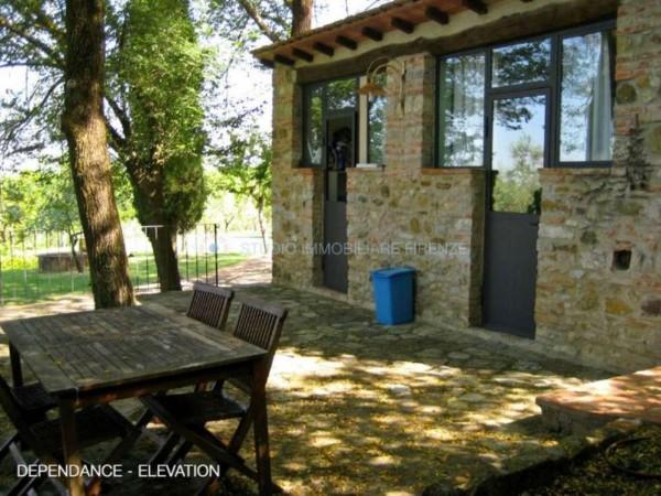 Rustico/Casale in vendita a San Casciano in Val di Pesa, Con giardino, 200 mq - Foto 8
