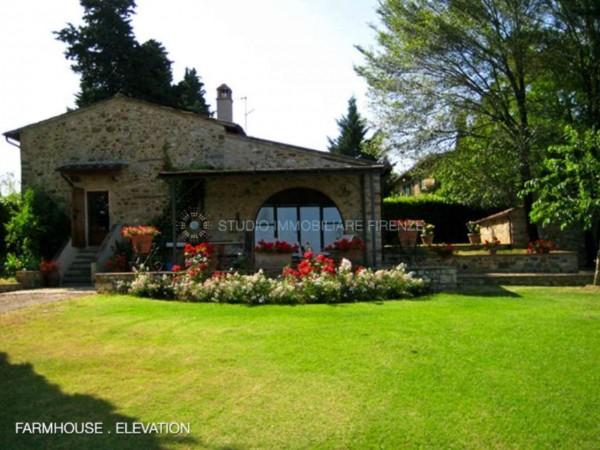 Rustico/Casale in vendita a San Casciano in Val di Pesa, Con giardino, 200 mq - Foto 21