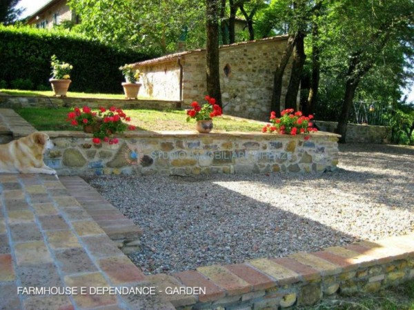 Rustico/Casale in vendita a San Casciano in Val di Pesa, Con giardino, 200 mq - Foto 7