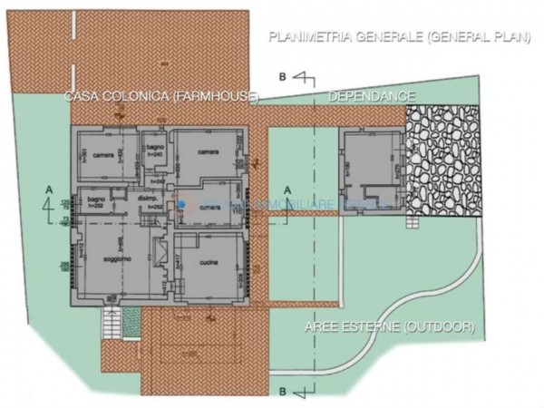 Rustico/Casale in vendita a San Casciano in Val di Pesa, Con giardino, 200 mq - Foto 3