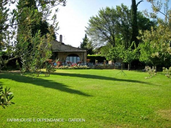 Rustico/Casale in vendita a San Casciano in Val di Pesa, Con giardino, 200 mq - Foto 12