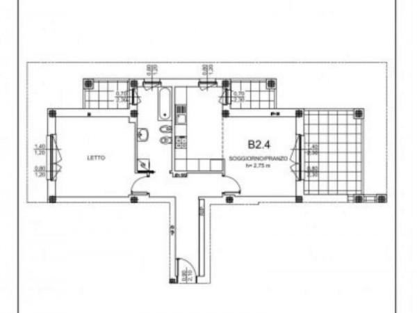 Appartamento in vendita a Milano, Salgari, Tito Livio, Con giardino, 83 mq - Foto 4