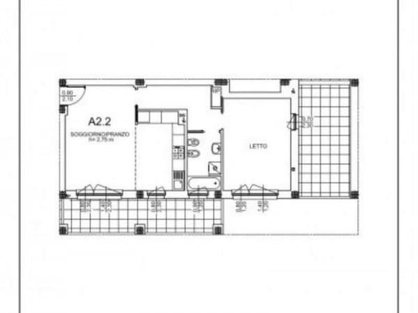 Appartamento in vendita a Milano, Salgari, Tito Livio, Con giardino, 83 mq - Foto 6