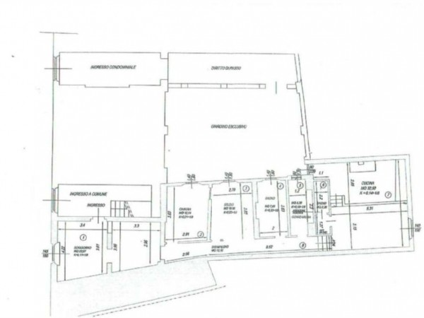 Appartamento in vendita a Firenze, 118 mq - Foto 2