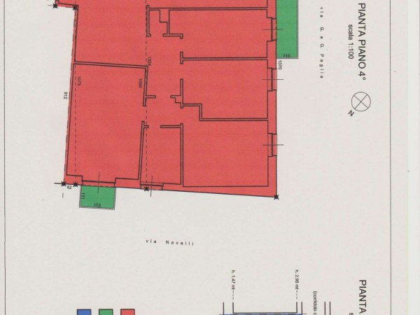 Appartamento in vendita a Bergamo, 140 mq - Foto 4