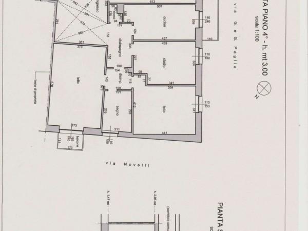 Appartamento in vendita a Bergamo, 140 mq - Foto 3