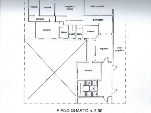 Appartamento in affitto a Bologna, Due Torri - Piazza Maggiore - Centro Storico, 245 mq - Foto 6