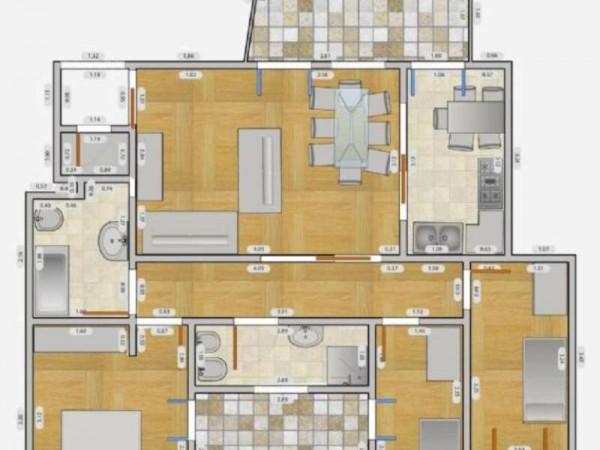 Appartamento in affitto a Milano, Q.re Adriano, 140 mq - Foto 9