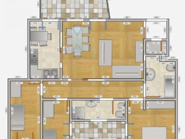 Appartamento in affitto a Milano, Q.re Adriano, 140 mq - Foto 8