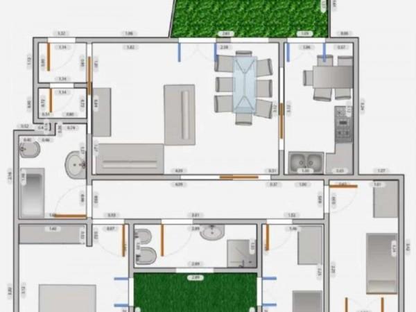 Appartamento in affitto a Milano, Q.re Adriano, 140 mq - Foto 5