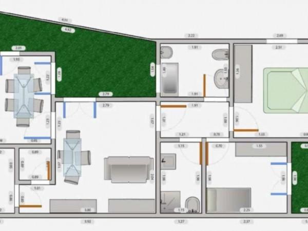 Appartamento in affitto a Milano, Q.re Adriano, 140 mq - Foto 4