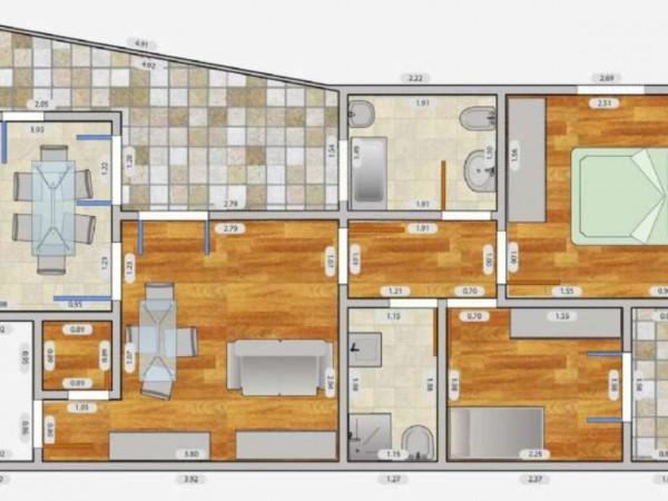Appartamento in affitto a Milano, Q.re Adriano, 140 mq - Foto 7