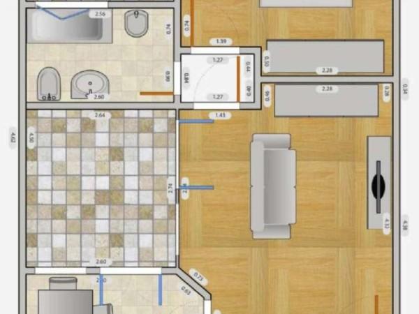 Appartamento in affitto a Milano, Q.re Adriano, 60 mq - Foto 2