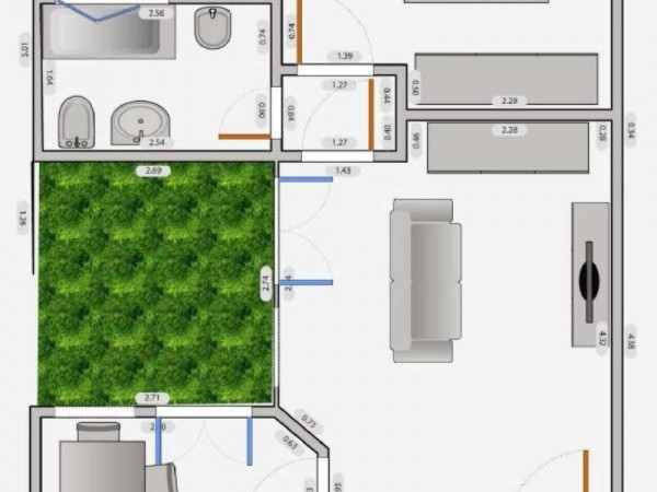 Appartamento in affitto a Milano, Q.re Adriano, 60 mq - Foto 6