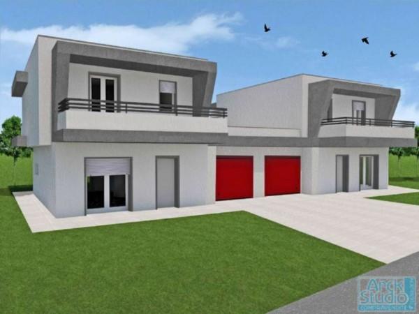 Villa in vendita a Casirate d'Adda, Treviglio 2 Km, Con giardino, 131 mq