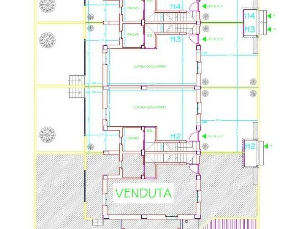 Villetta a schiera in vendita a Ortona, Schiavi, 165 mq - Foto 13