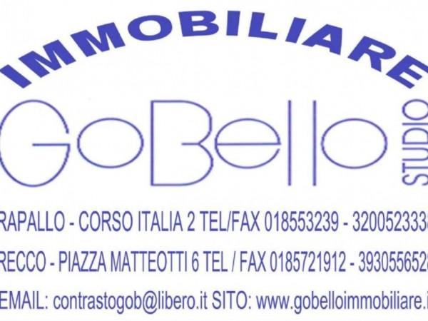 Appartamento in vendita a Camogli, Comodo Centro E Mare, Arredato, 45 mq
