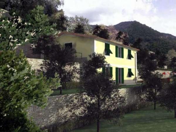 Villa in vendita a Zoagli, Prima Collina Fronte Mare, Con giardino, 232 mq