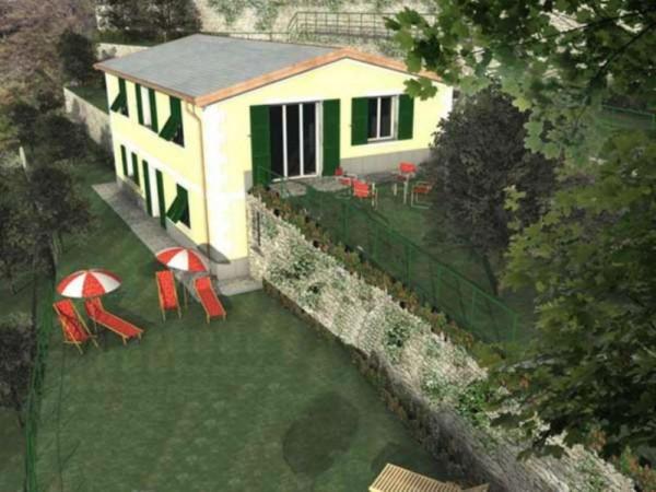 Villa in vendita a Zoagli, Prima Collina Fronte Mare, Con giardino, 232 mq - Foto 16