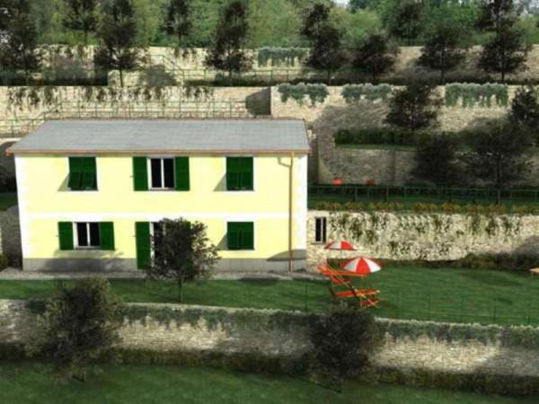 Appartamento in vendita a Zoagli, Prima Collina Fronte Mare, Con giardino, 120 mq - Foto 1