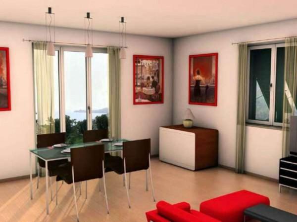Appartamento in vendita a Zoagli, Prima Collina Fronte Mare, Con giardino, 120 mq - Foto 27