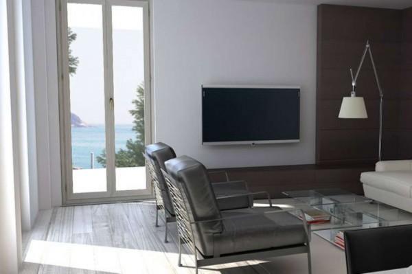 Appartamento in vendita a Zoagli, Prima Collina Fronte Mare, Con giardino, 120 mq - Foto 12