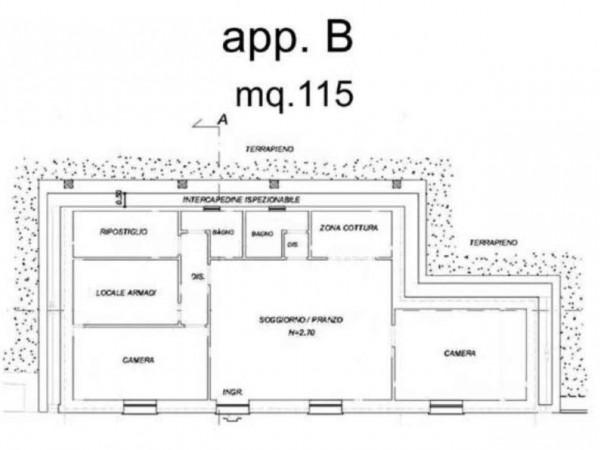 Appartamento in vendita a Zoagli, Prima Collina Fronte Mare, Con giardino, 120 mq - Foto 25