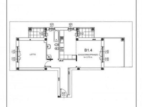 Appartamento in vendita a Milano, Cadore,montenero, Muratori, Libia, Con giardino, 84 mq - Foto 2